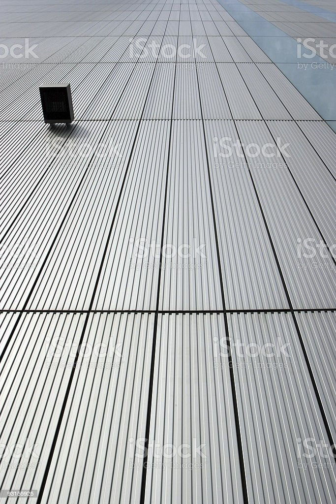 Modern building detail royalty-free stock photo