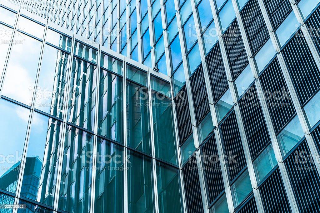 modern building exterior stock photo