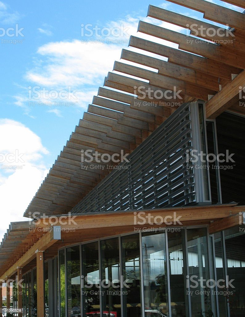Modern building exterior royalty-free stock photo