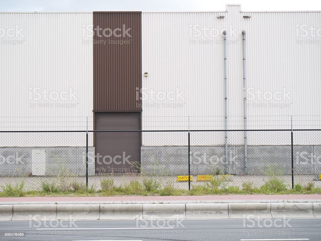 modern building factory royalty-free stock photo