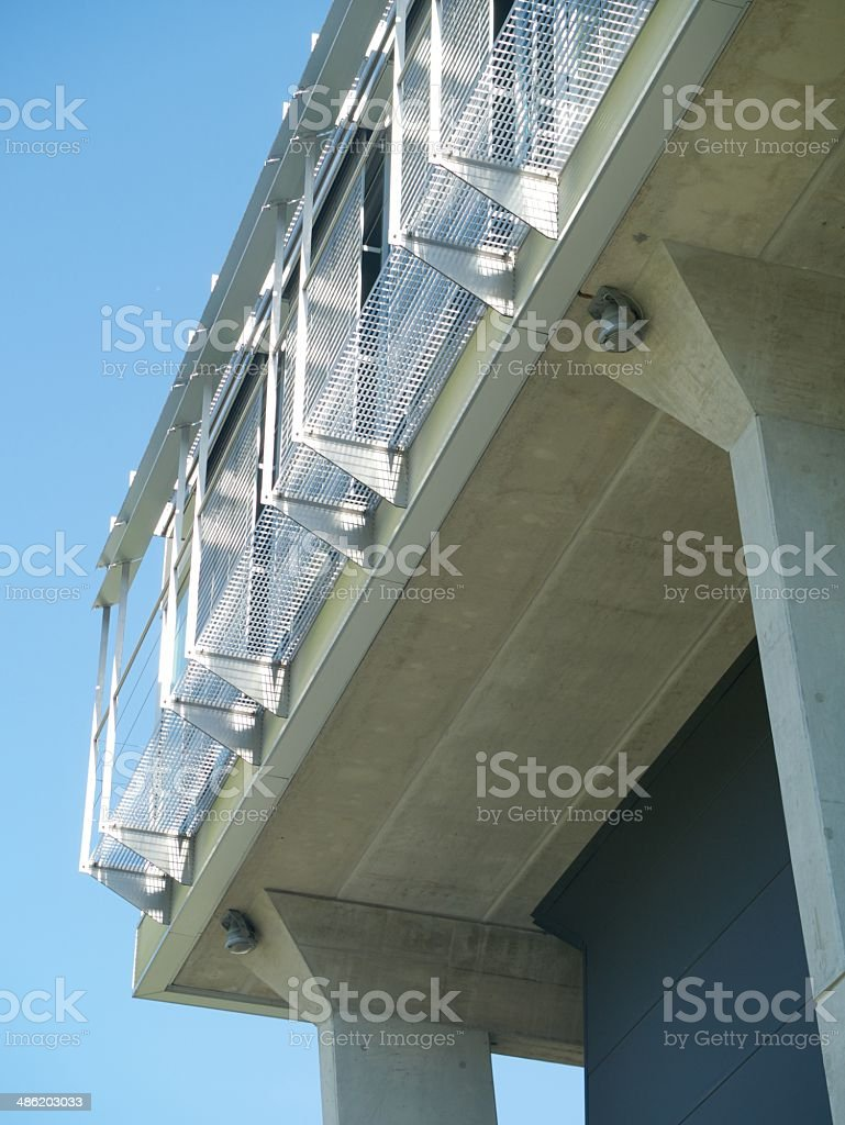 modern building geneve royalty-free stock photo