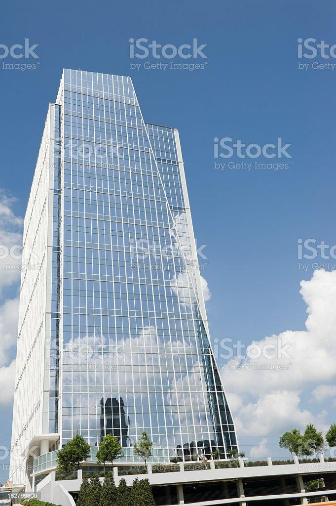 modern building in atlanta buckhead royalty-free stock photo