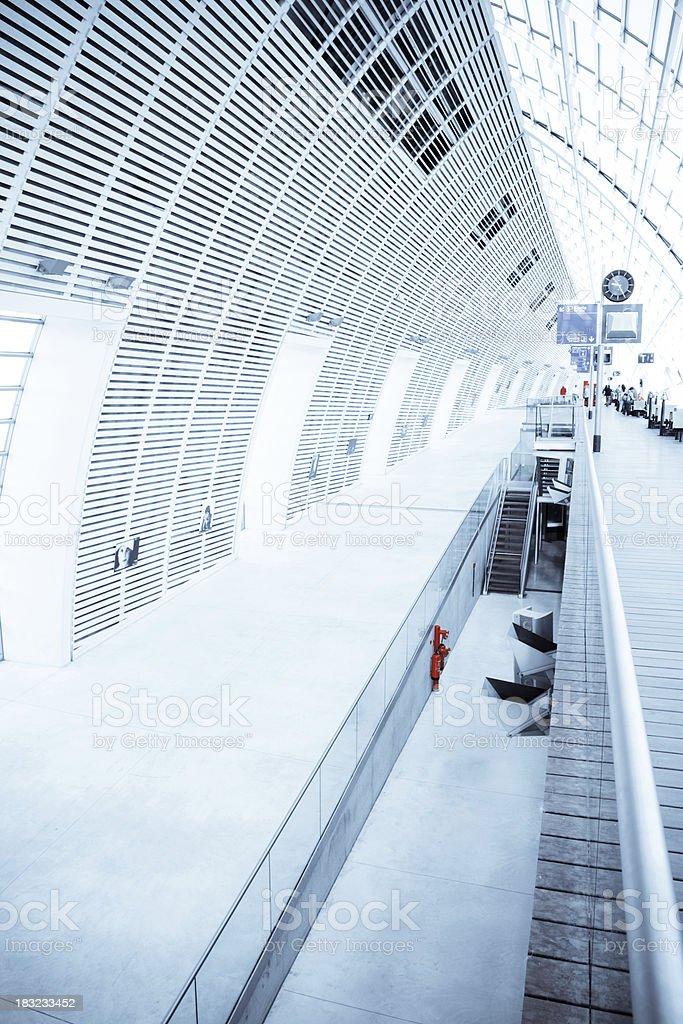 Modern Building Interior - XLarge royalty-free stock photo