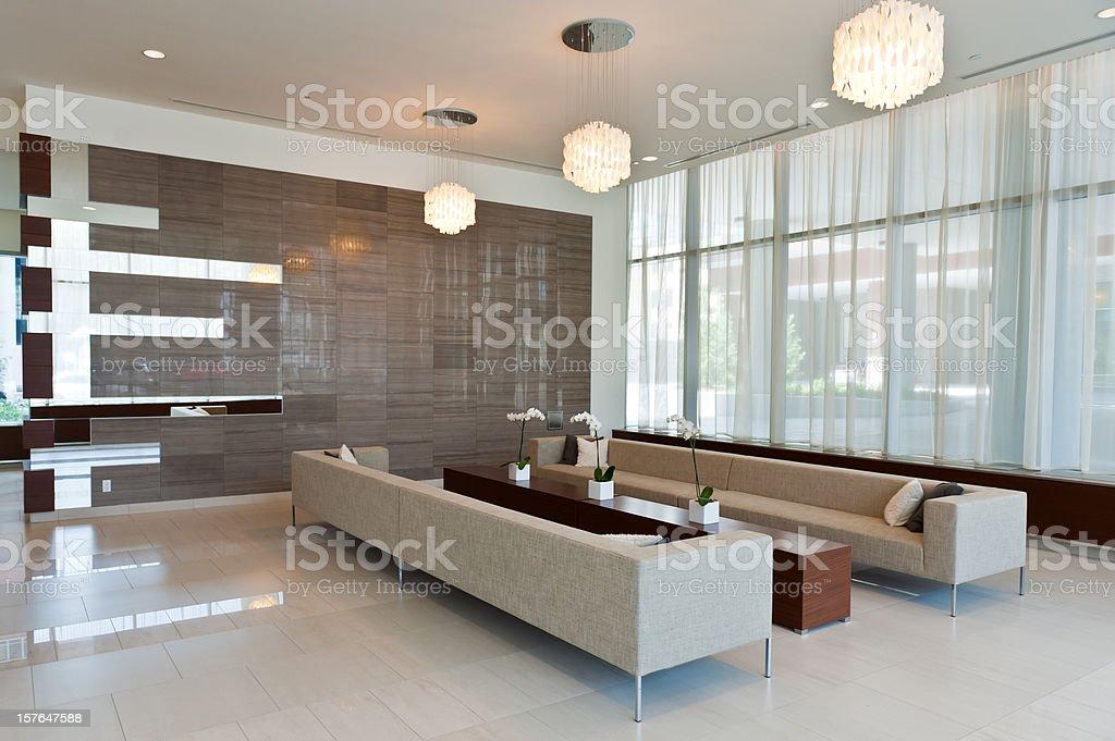 Modern Building Lobby royalty-free stock photo