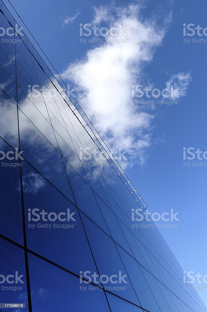Modern building of business royalty-free stock photo