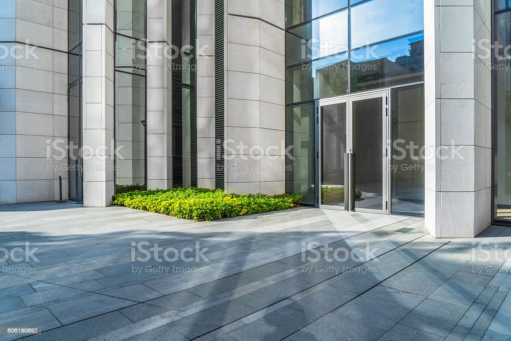 modern building outdoors stock photo