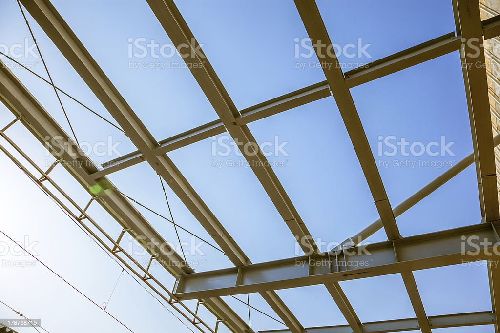 modern building roof royalty-free stock photo