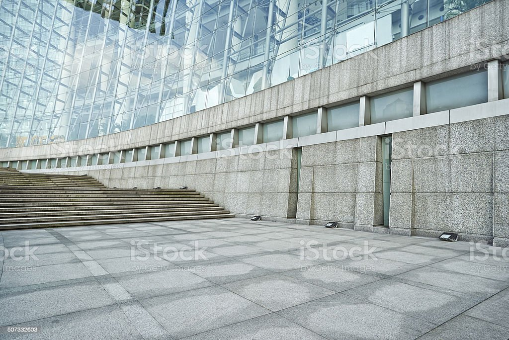 modern building, science and technology museum stock photo