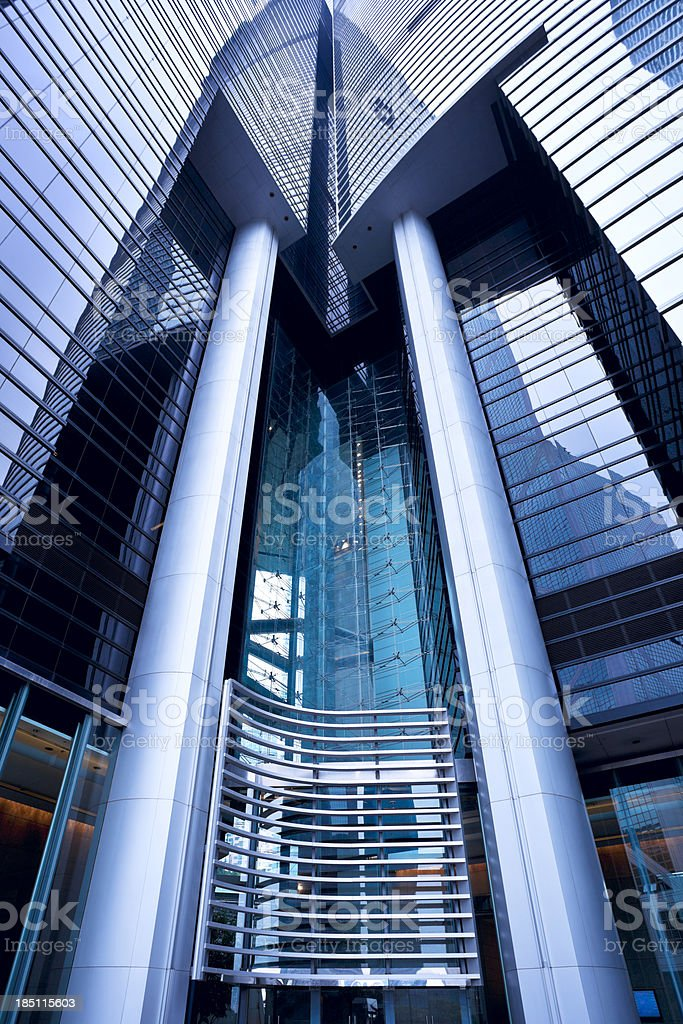 Modern building structure royalty-free stock photo