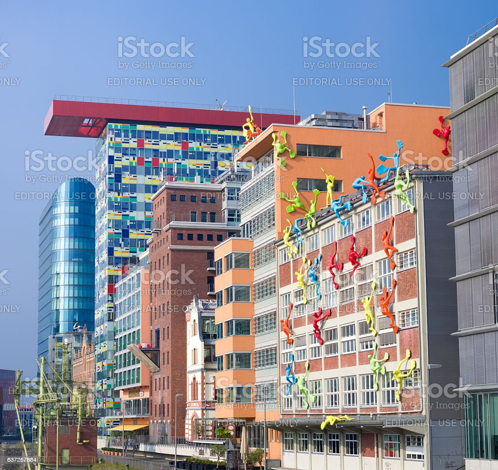 modern buildings exterior stock photo