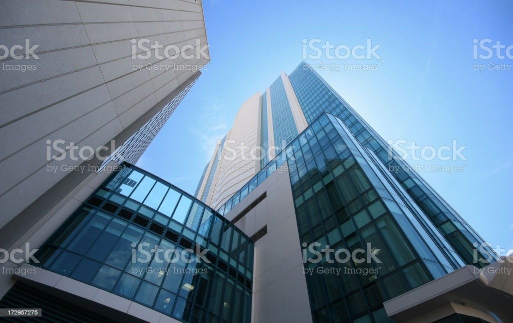 Modern buildings in San Francisco royalty-free stock photo