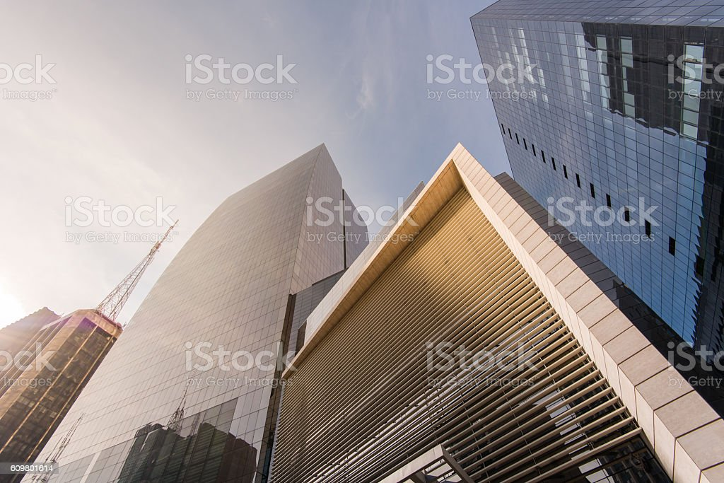 Modern Buildings in Sao Paulo City stock photo