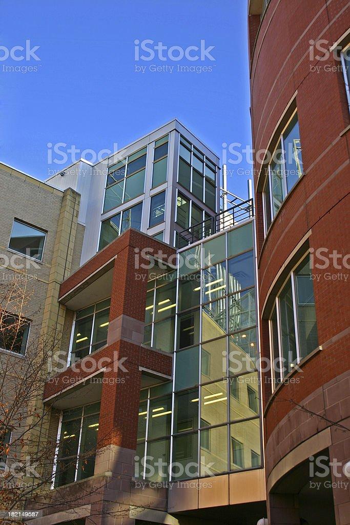 Modern buildings royalty-free stock photo