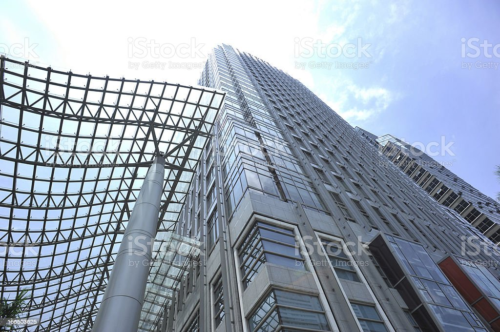 modern buildings under sky royalty-free stock photo