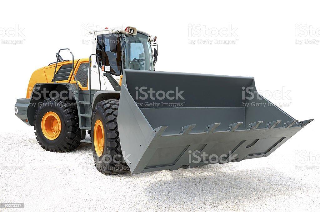 Modern bulldozer royalty-free stock photo