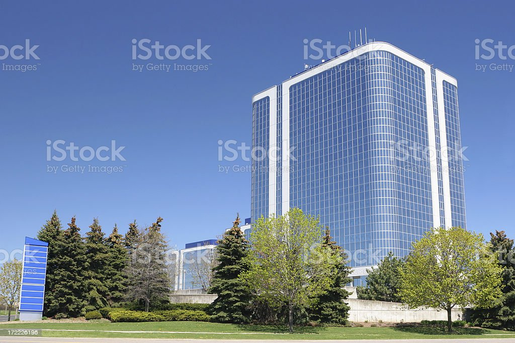 Modern Business Block royalty-free stock photo