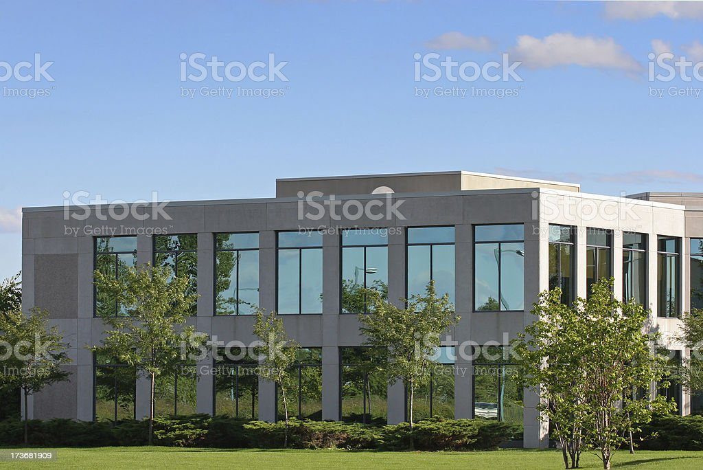 Modern Business Center Building royalty-free stock photo