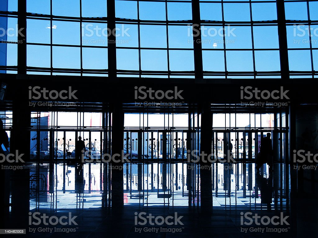 Modern Business center royalty-free stock photo