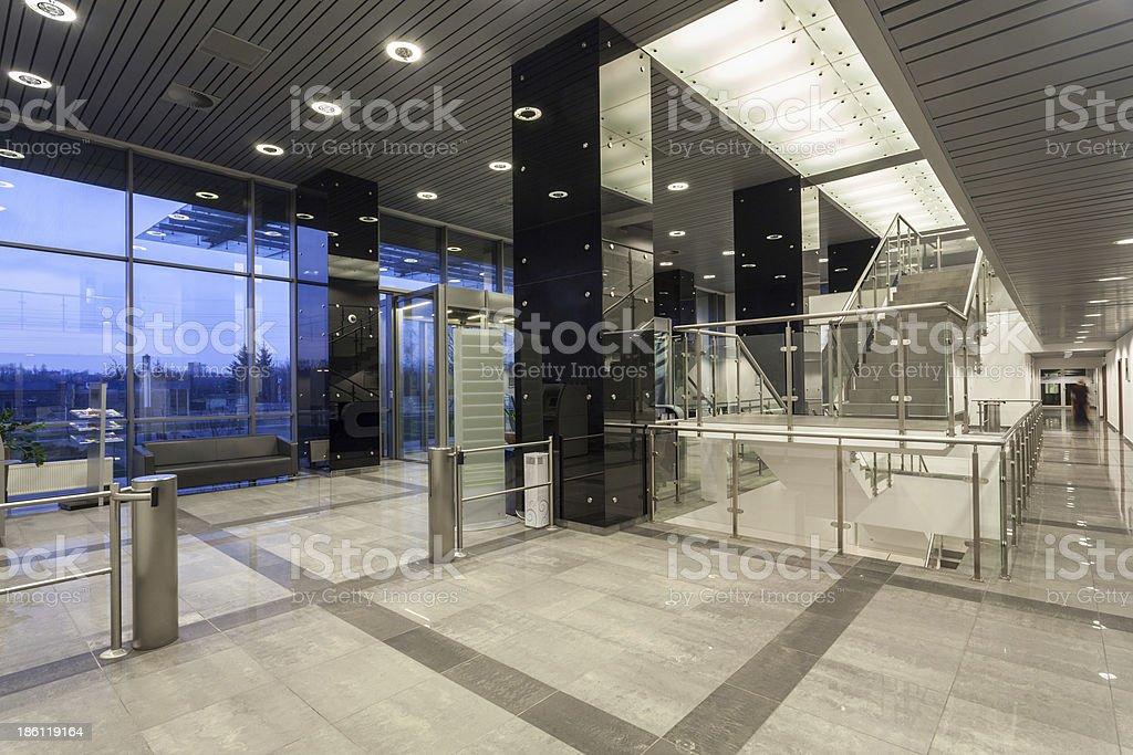 Modern business centre stock photo