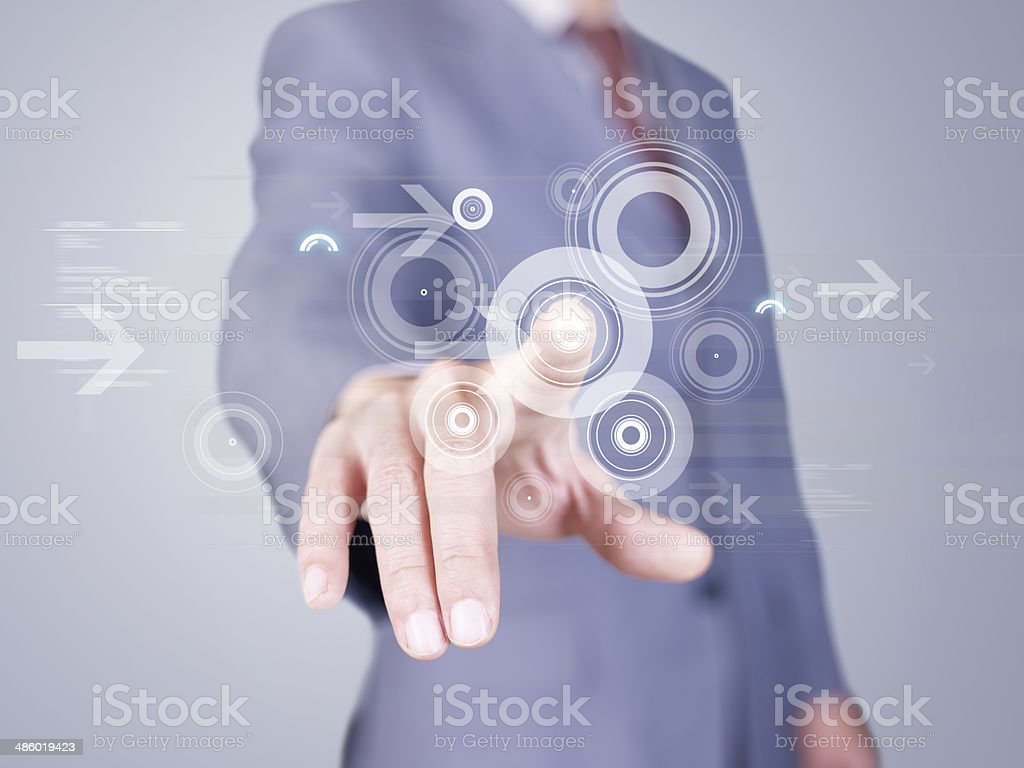 modern business concept stock photo