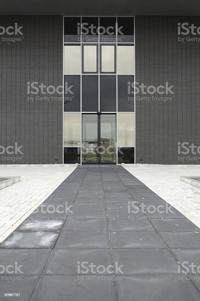 Modern Business Entrance royalty-free stock photo