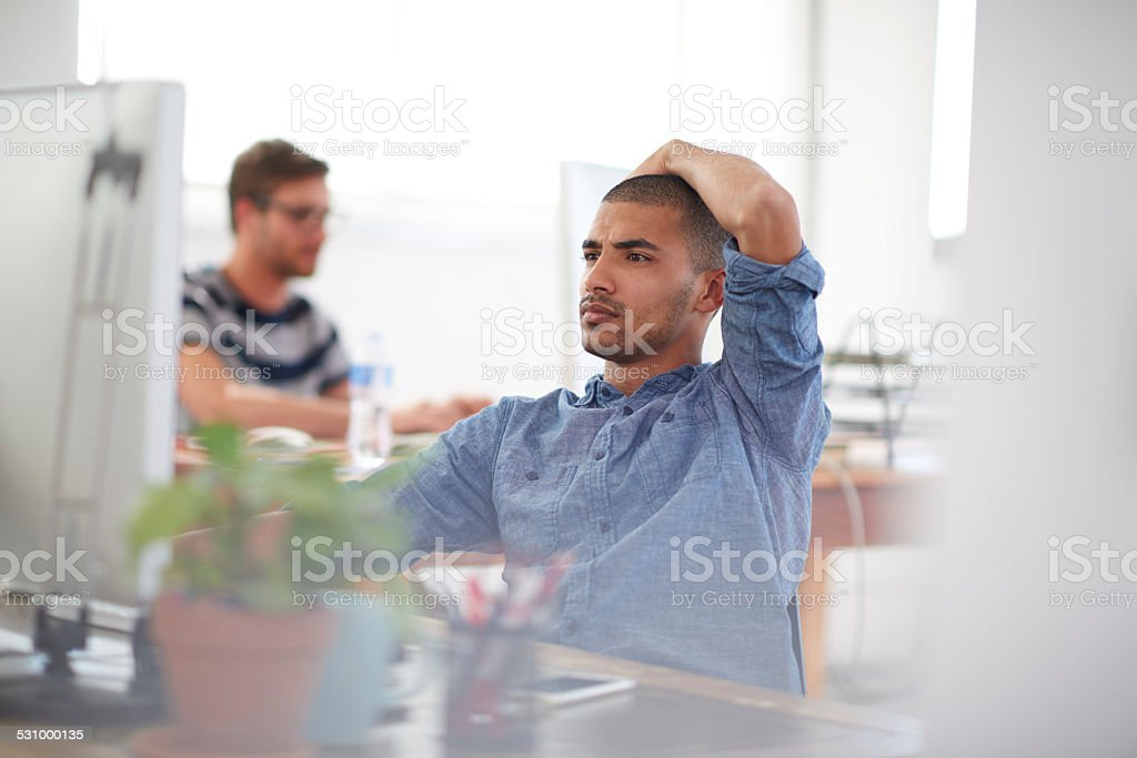 Modern business for contemporary solutions stock photo