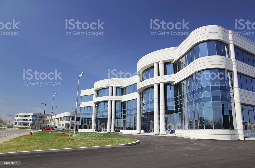 Modern Business in an Industrial District royalty-free stock photo