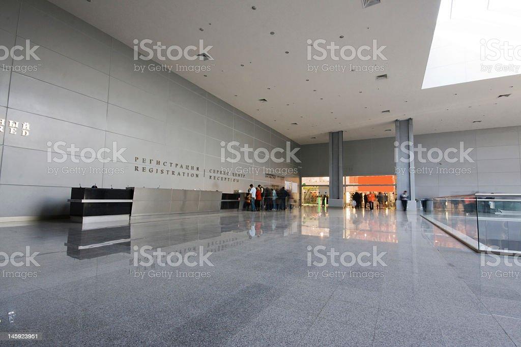 modern business interior royalty-free stock photo