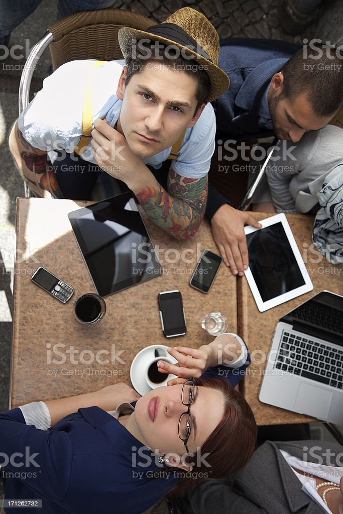 Modern Business Meeting stock photo