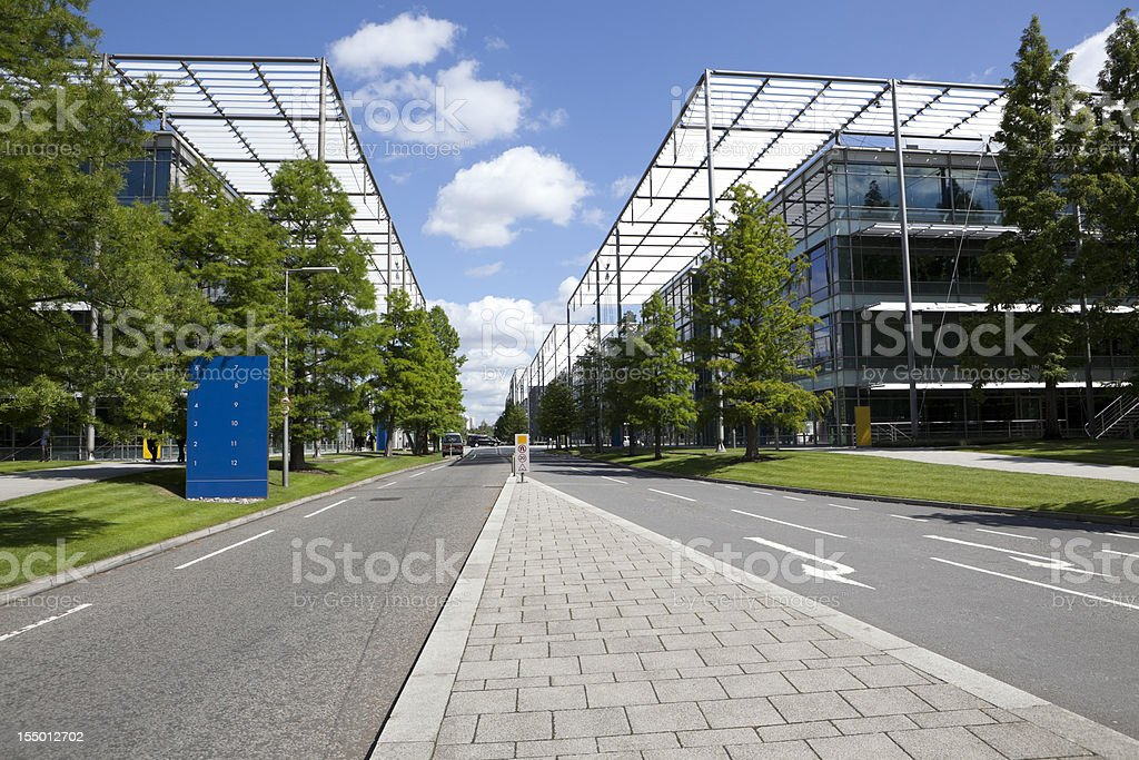 Modern Business Park (XXXL) royalty-free stock photo
