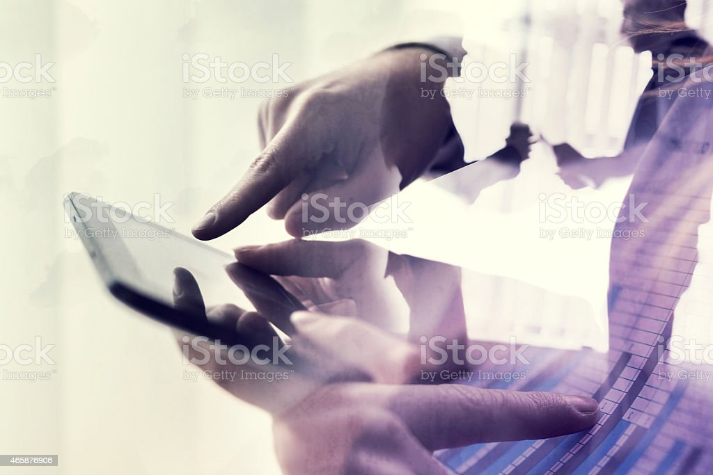 Modern business stock photo