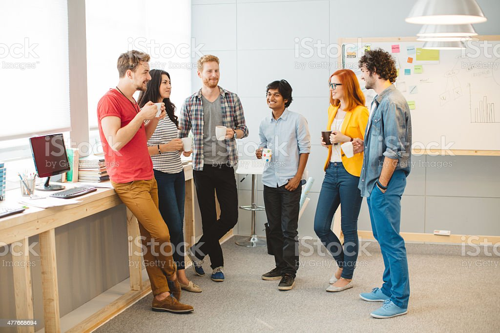 Modern business. stock photo