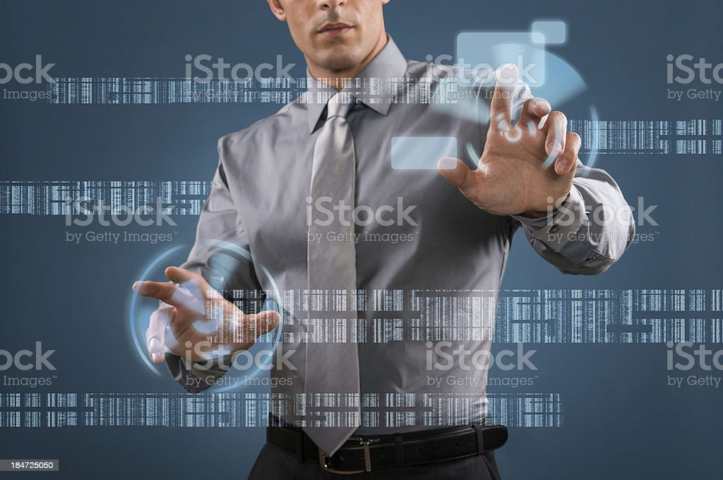 Modern business technology royalty-free stock photo