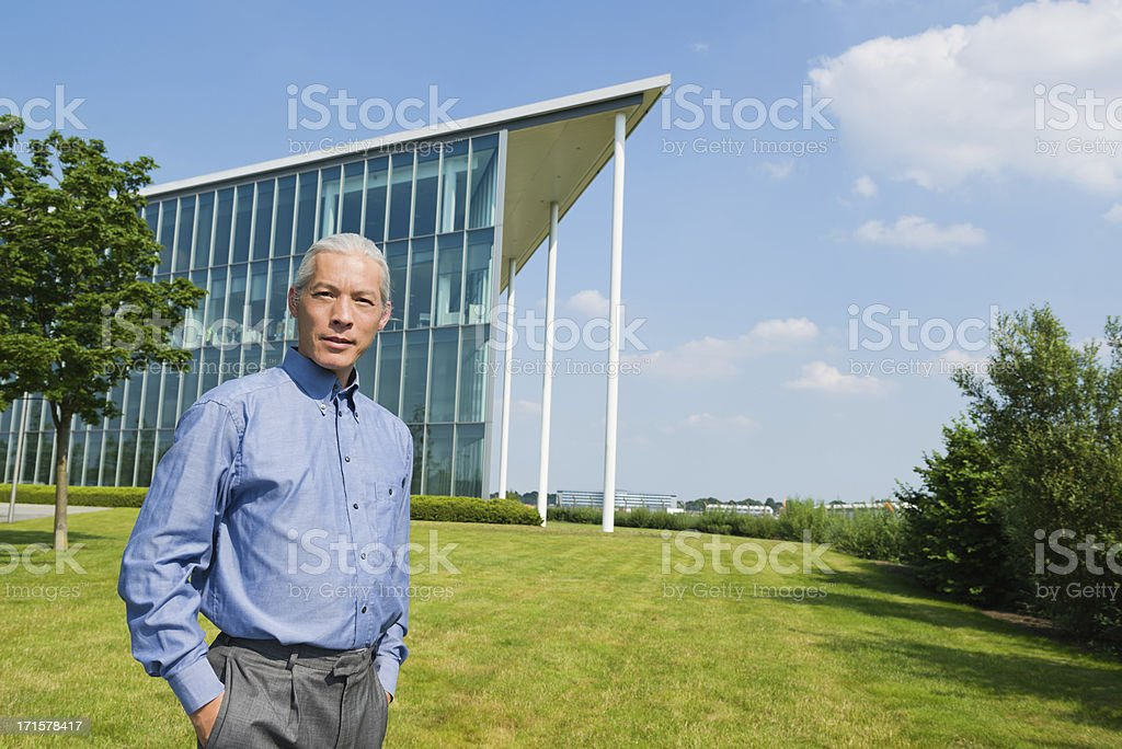 Modern Businessman royalty-free stock photo