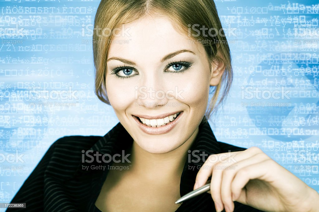 Modern Businesswoman royalty-free stock photo