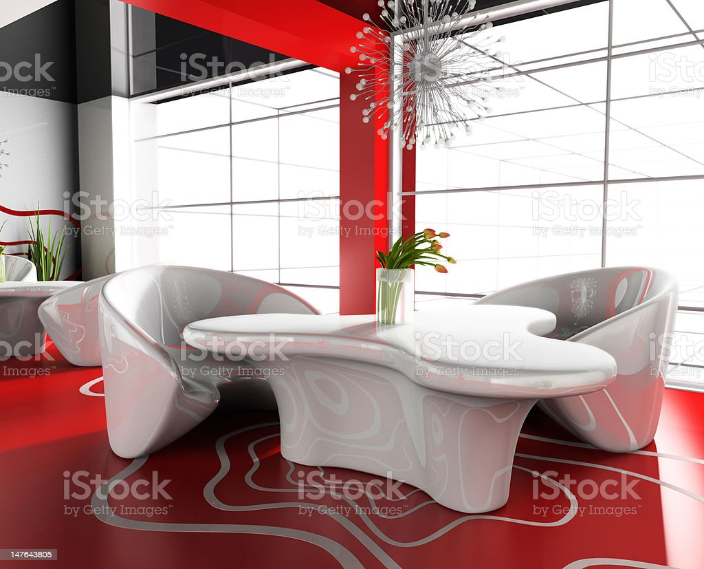 modern cafe royalty-free stock photo