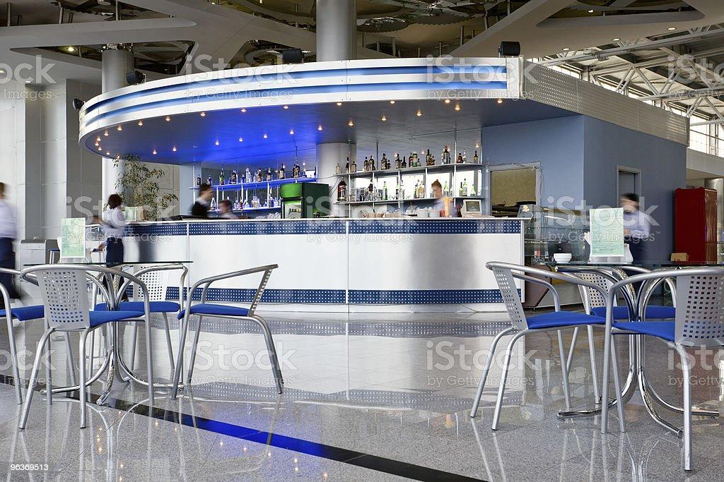 modern cafe royalty-free stock photo
