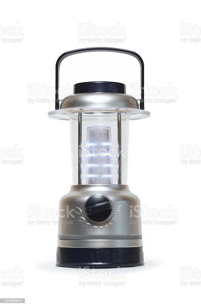 Modern Camping Lamp stock photo