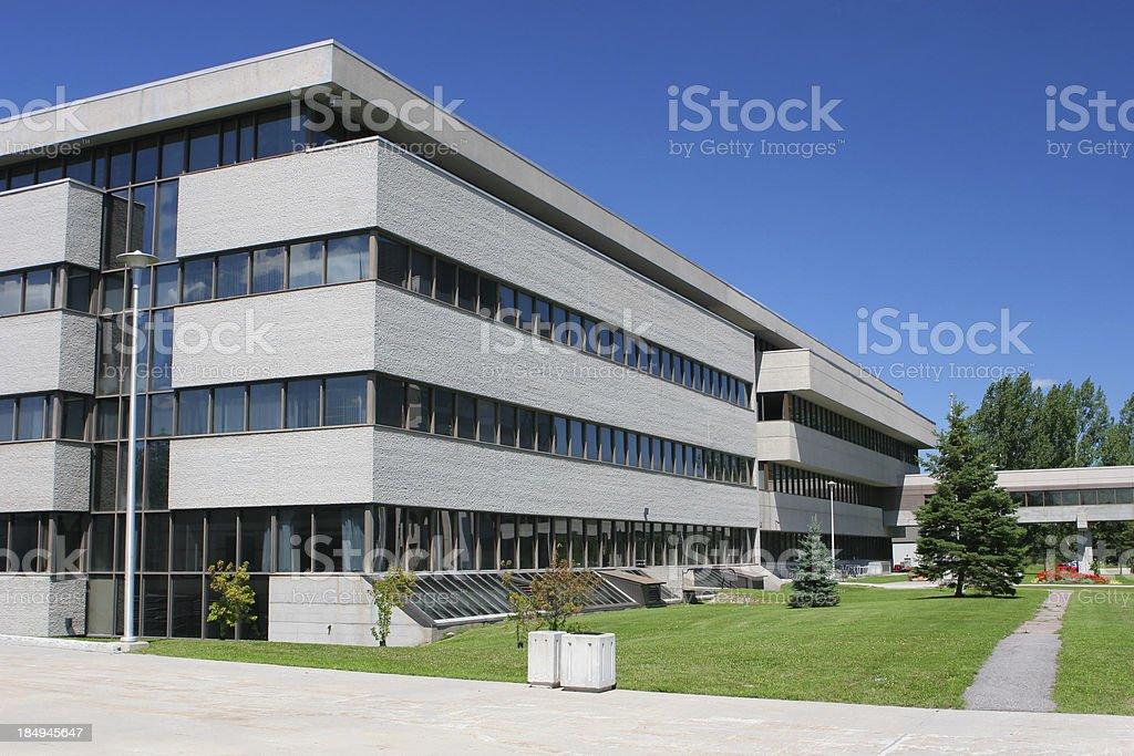 Modern Campus royalty-free stock photo