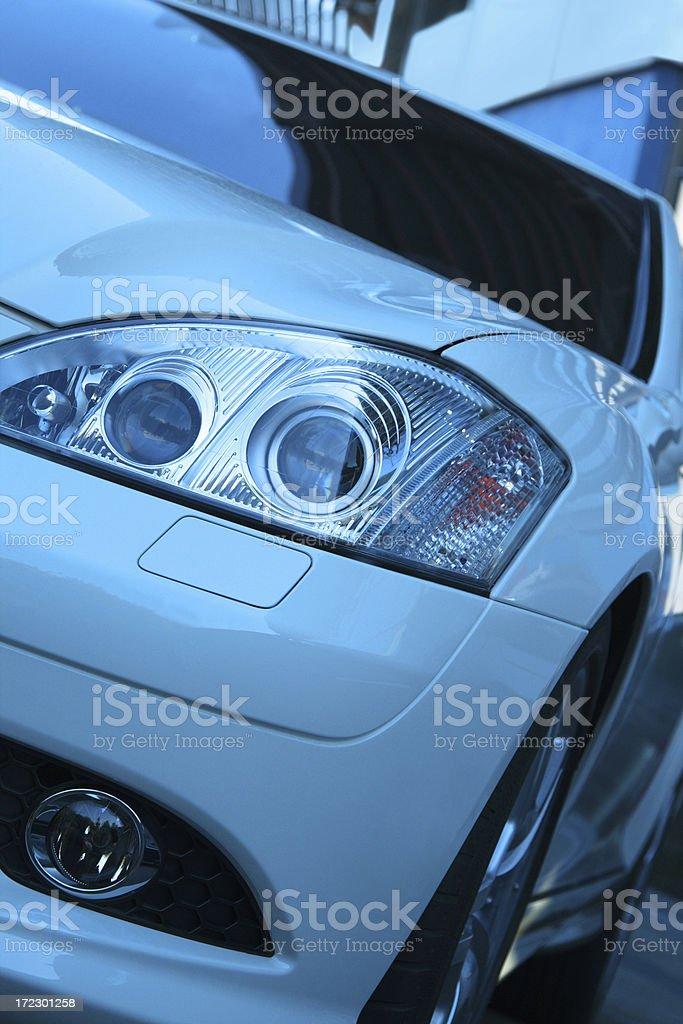 Modern Car Close Up royalty-free stock photo
