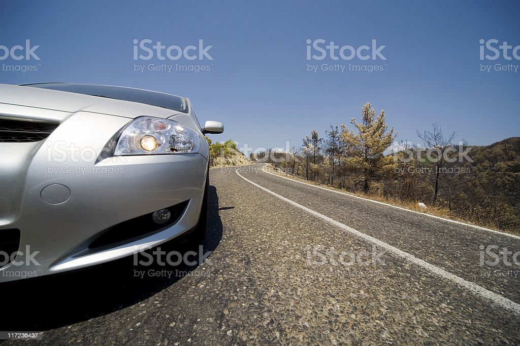 Modern car royalty-free stock photo