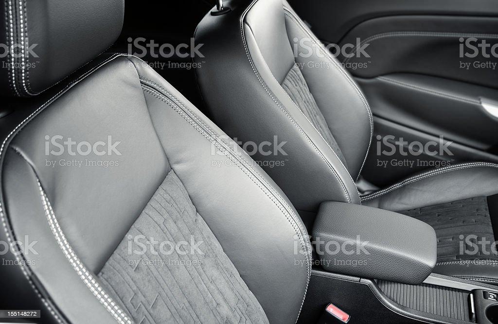 modern car seat royalty-free stock photo