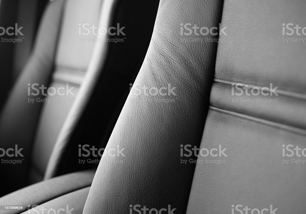 modern car seats stock photo