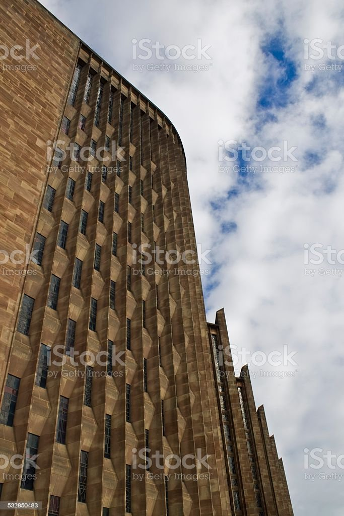 Modern Cathedral Exterior stock photo