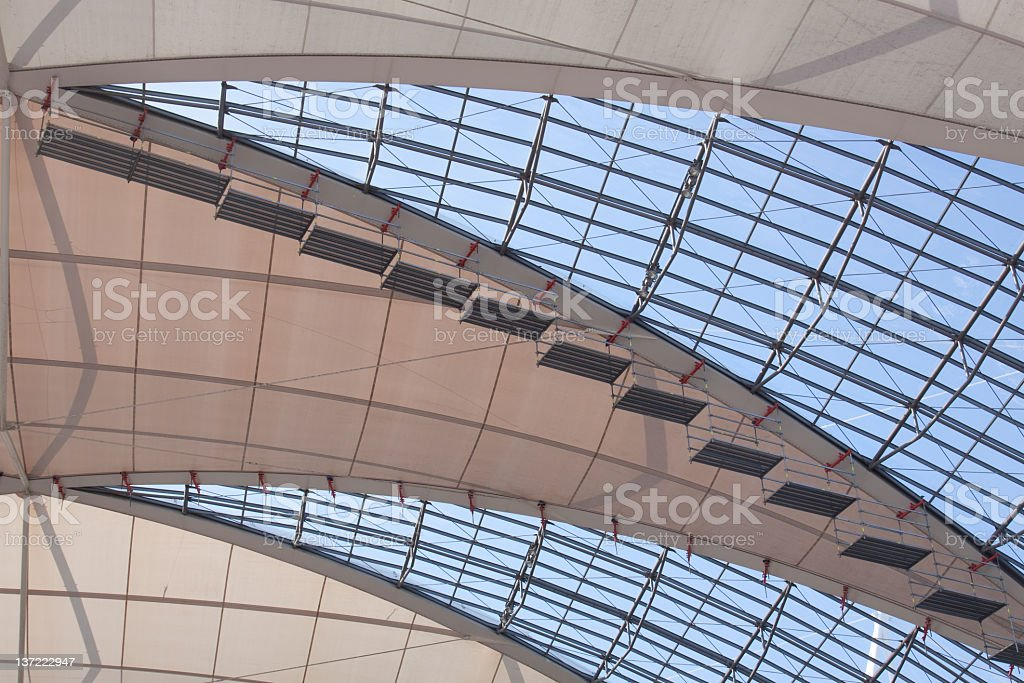 modern ceiling royalty-free stock photo