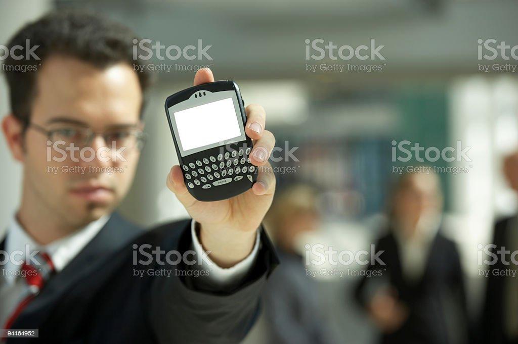 modern cellphone royalty-free stock photo