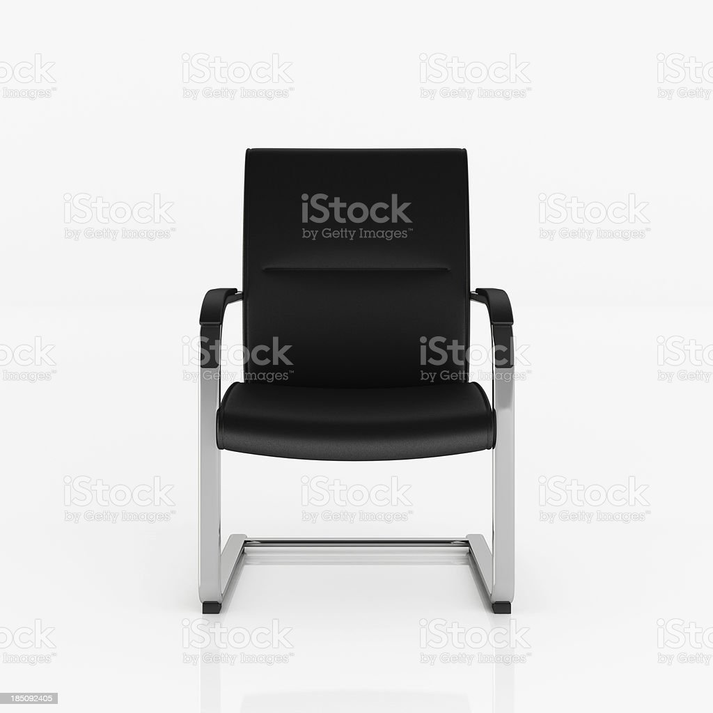 Modern Chair - Clipping path stock photo
