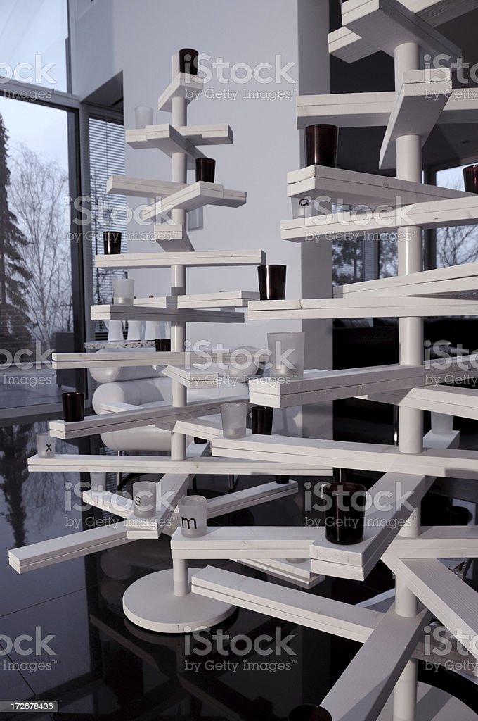 modern christmas stock photo