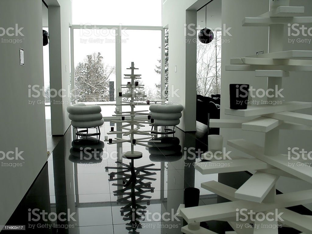 modern christmas royalty-free stock photo