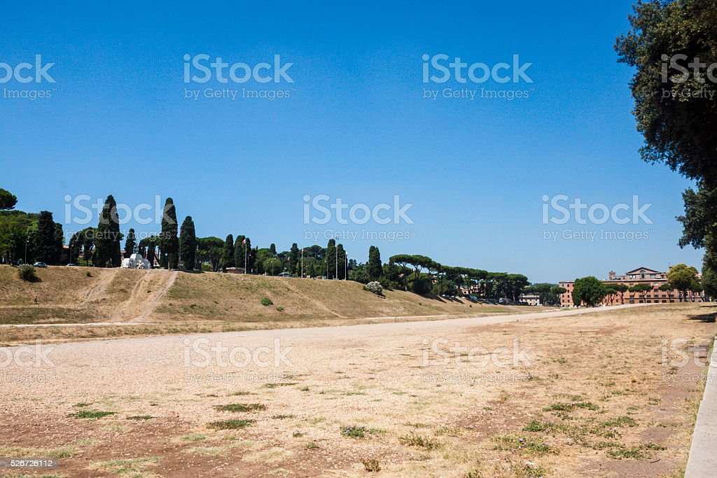 Modern Circus Maximus stock photo